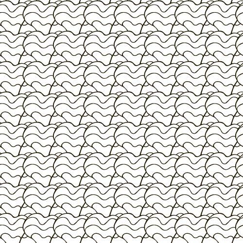 Hand drawn seamless pattern vector 04