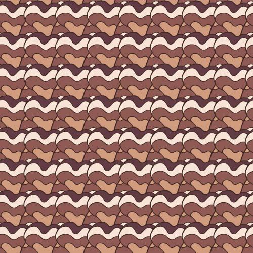 Hand drawn seamless pattern vector 07