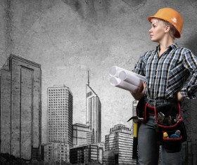 Ideal for female architects Stock Photo 01