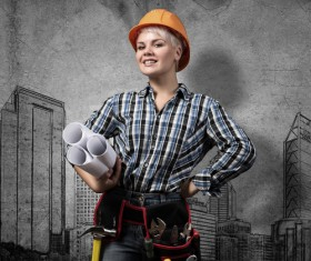 Ideal for female architects Stock Photo 02