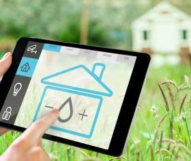 Intelligent home management system Stock Photo 02