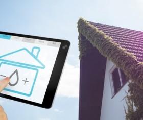 Intelligent home management system Stock Photo 03