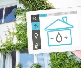 Intelligent home management system Stock Photo 04