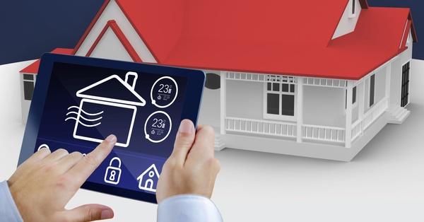 Intelligent home management system Stock Photo 05