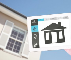 Intelligent home management system Stock Photo 07