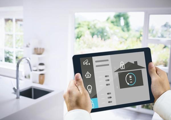 Intelligent home management system Stock Photo 08