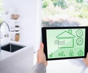 Intelligent home management system Stock Photo 09