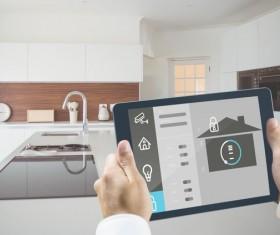Intelligent home management system Stock Photo 11