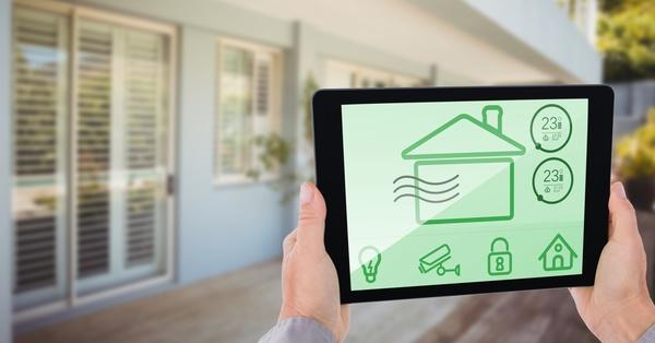 Intelligent home management system Stock Photo 12