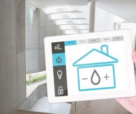 Intelligent home management system Stock Photo 13