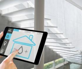 Intelligent home management system Stock Photo 14