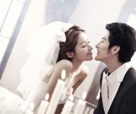 Korean aesthetic wedding Stock Photo