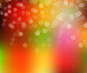 Light effect bokeh with blurred backgrounds vector 06