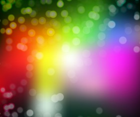Light effect bokeh with blurred backgrounds vector 07