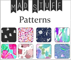 Mad Stuff Photoshop Patterns