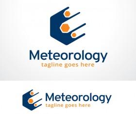 Meteorology logo vector design