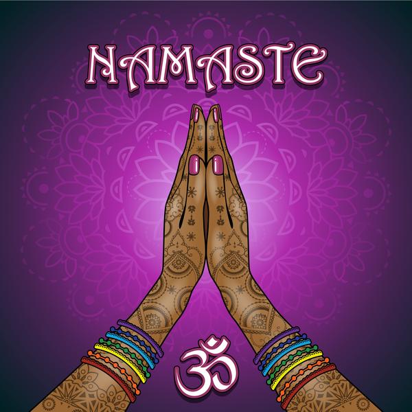 Namaste styles vector material