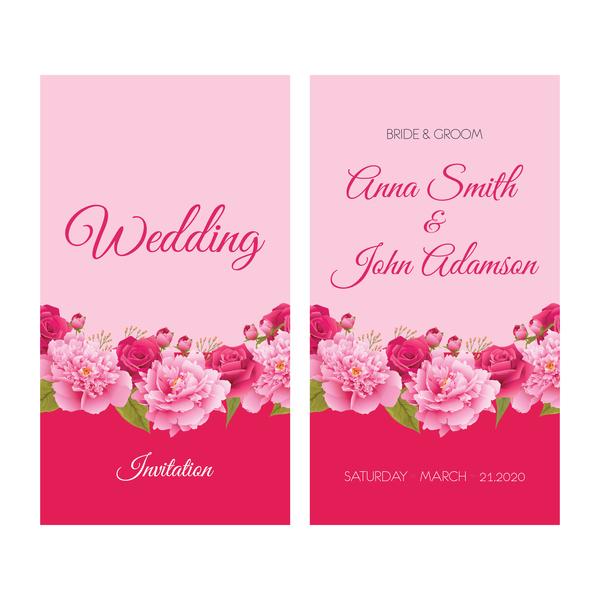 Wedding invitation thank you card save the date cards eps 10 free wedding invitation thank you card save the date cards eps 10 stopboris Image collections