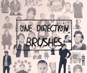One Direction photoshop brushes