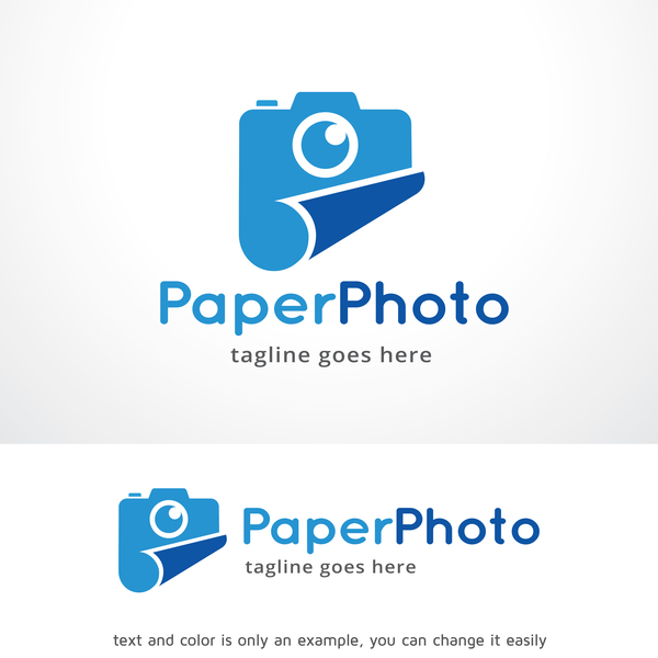 Paper Photo vector logo