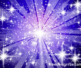 Purple light beam background shiny vector 02