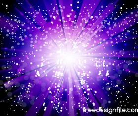 Purple light beam background shiny vector 03