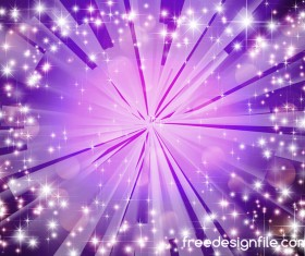 Purple light beam background shiny vector 04