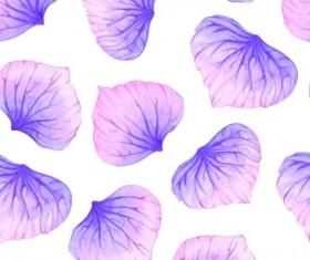 Purple petal seamless pattern vector 03