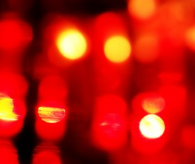 Red Bokeh Background Stock Photo 01