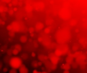Red Bokeh Background Stock Photo 02