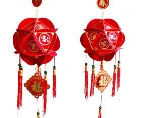 Red lanterns Stock Photo