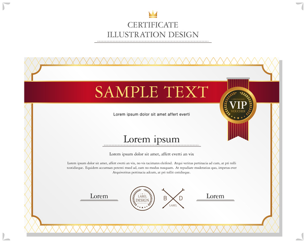 Royal certificate template illustration vector 09 vector cover royal certificate template illustration vector 09 yadclub Choice Image