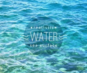 Sea with summer travel background vector 08