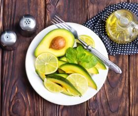 Shea fruit salad Stock Photo