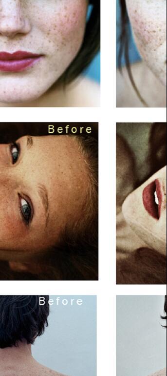 Simply portraits photoshop action