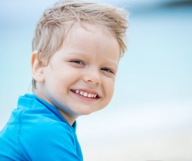Smiling little boy HD picture