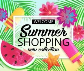 Summer big sale vector background 01