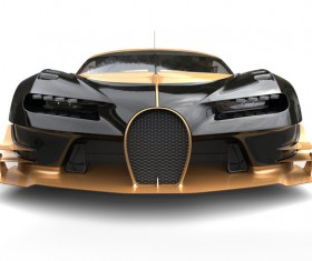 Black sports car HD picture