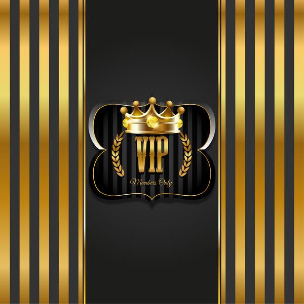 VIP background luxury design vectors 06