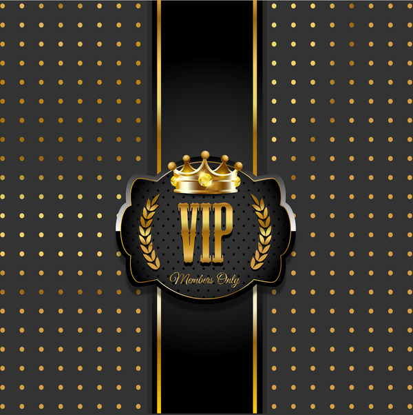 VIP background luxury design vectors 11