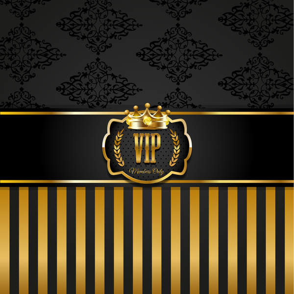 VIP background luxury design vectors 13
