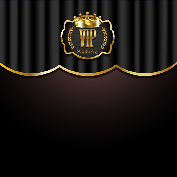 VIP background luxury design vectors 17
