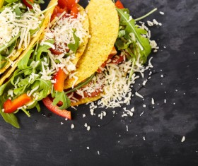 Vegetable Tortilla Stock Photo 02