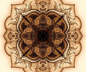 Vintage ethnic decorative pattern vector 02