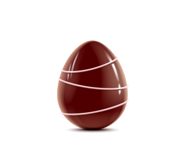 decorated chocolate egg