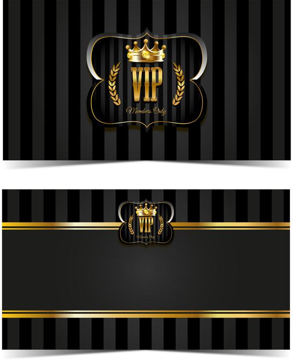 Luxury vip card template vectors set 05 free download luxury vip card template vectors set 05 maxwellsz