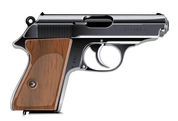 pistol illustration vector 01