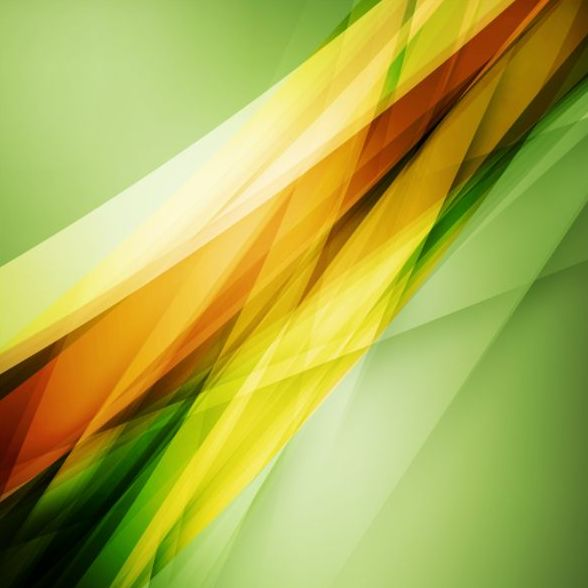 Abstract green background art vectors 04