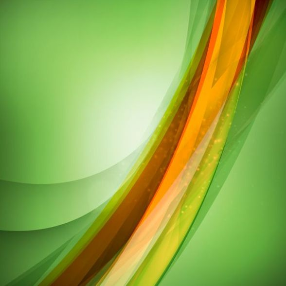 Abstract green background art vectors 05