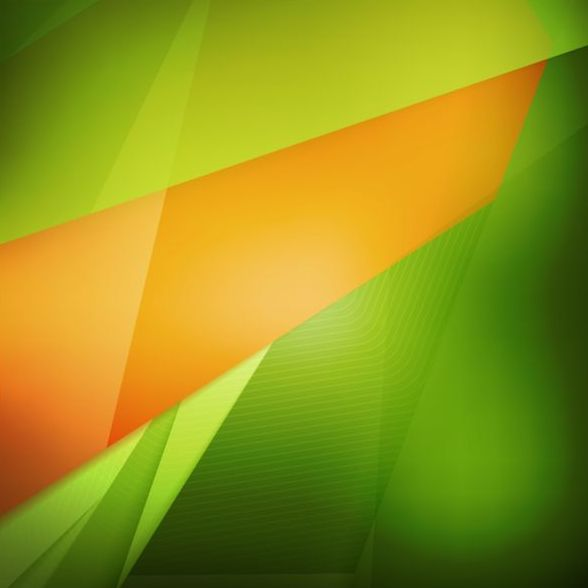Abstract green background art vectors 06